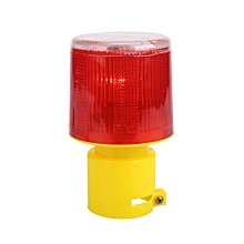 Traffic Alarm Lamp Solar Warning Light Universal Solar Powered Red Light Strobe Tower Signal Led Light Safety Work