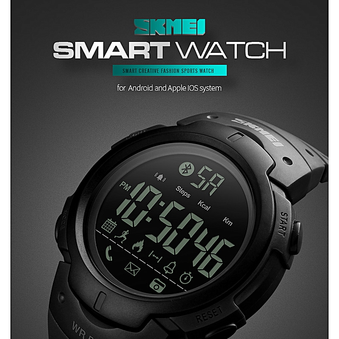 c996e07c52269d Skmei Smart Bluetooth Pedometer Calorie Remote Camera Wristwatches ...