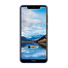 "Nokia X5 - 5.86"" HD+ (3GB RAM + 32GB ROM) Android 8.1, (13.0MP + 5.0MP) + 8.0MP, 4G LTE Smartphone - BLACK"