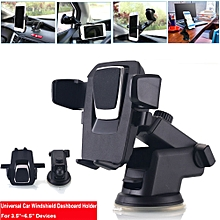 New 360°Adjuatable Car Windshield/Dashboard Mount Holder For Cell Phone GPS