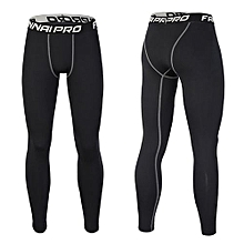 Man Fashion Workout Leggings Fitness Sports Gym Running Yoga Athletic Pants