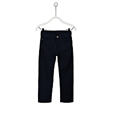 Navy Blue Fashionable Skinny Trousers