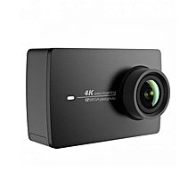 Action Camera 2YI 4K  2.19 Retina Screen Ambarella A9SE75 Sony IMX377  - Black