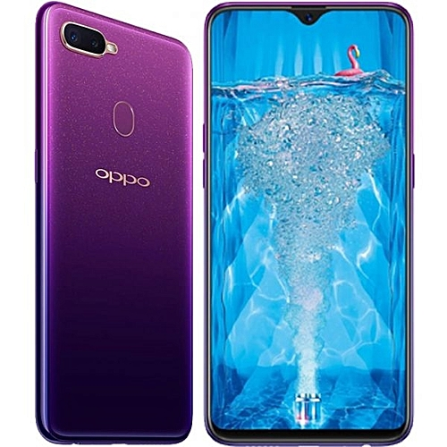 "F9 Pro - 6.3"" - 64GB - 6GB RAM - 25MP Front Camera - Dual SIM 4G -Purple"
