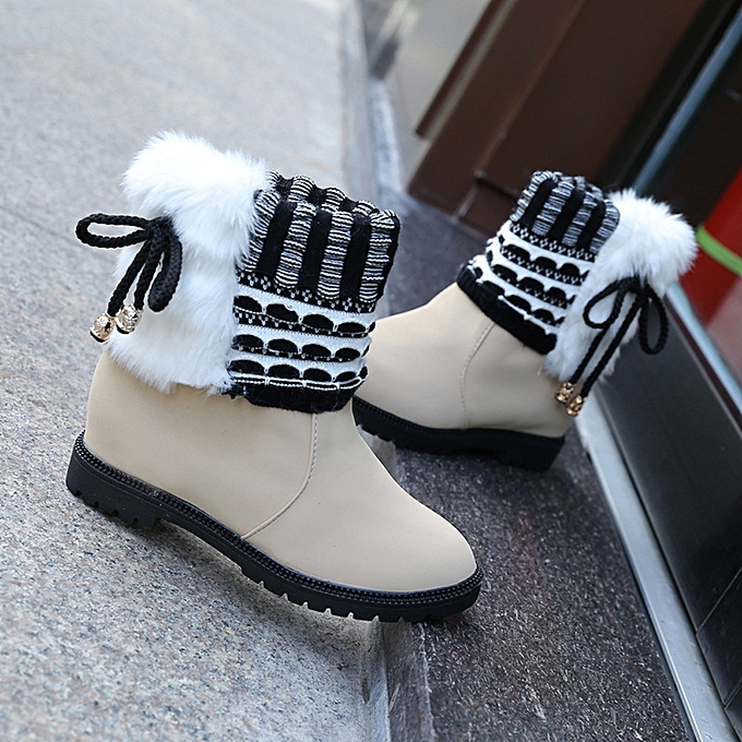 f9d1a9e03 Hiamok_Women's Boots Winter Boots Warm Ankle Boots Warm Winter Shoes