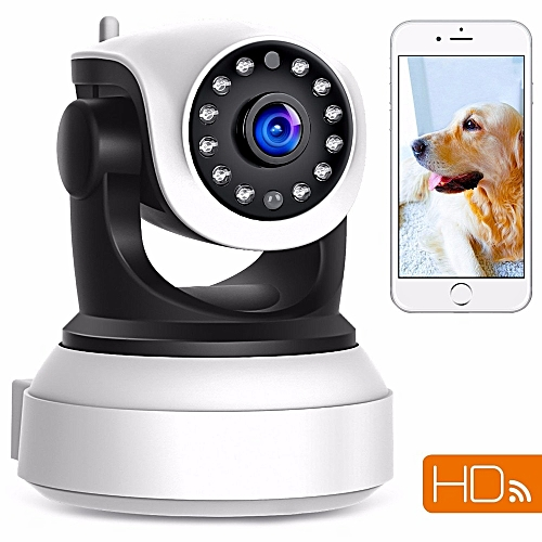 720p HD WiFi Security Camera IP Network Surveillance CCTV Camera Day Night  Vision Baby Monitor CamHi APP Home Indoor Camera (Only 720P Camera)