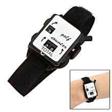 Golf Club Stroke Score Keeper Count Watch Putt Shot Counter With Wristband Band
