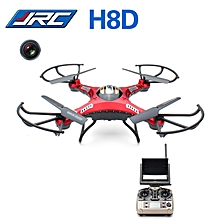 H8D 2.4GHz 4CH Headless Mode 5.8G FPV RC Quadcopter Drone with 2MP Camera RTF - Red