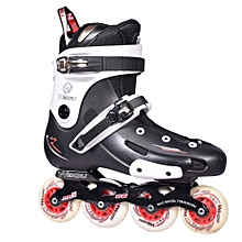 Professional Inline Skate - Adult Roller Skating Shoes - Black red - High Quality