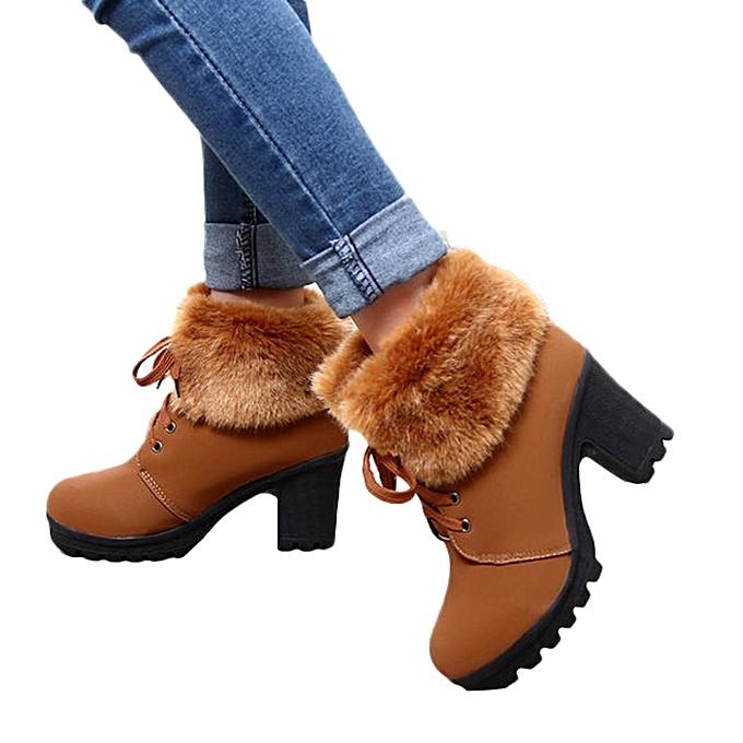 b69c5bcc42795 Xiuxingzi Winter Women Snow Boots Comfortable Ankle Boots Slip Resistant  Rubber Warm Boots