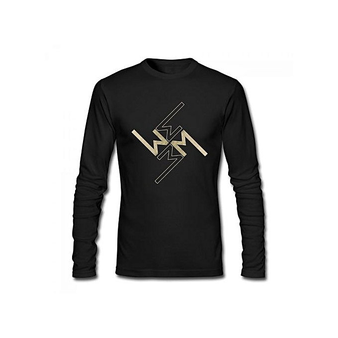 Buy Generic Marilyn Manson Symbol Mens Cotton Long Sleeve T Shirt