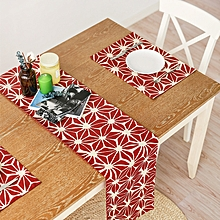 Nordic American Rectangular Tea Table Runner Tablecloth Modern Table Placemat Flags Home Decor 33cm x 45cm