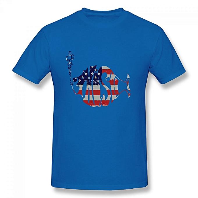 53f0e844278 Generic Phish Band US Flag Logo Men s Cotton Short Sleeve Print T ...