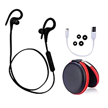 Q10 Wireless Sports Running Music Sweatproof Bluetooth Earphone Earhook Headphones(Black)