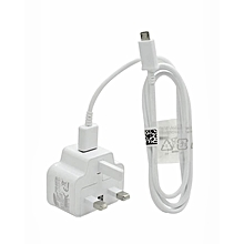 Galaxy S4 Charger - White