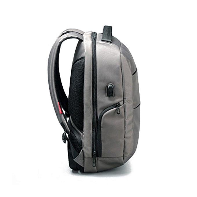 3cd8f7a0add8 Men Women USB Charging Waterproof Antitheft Laptop Large Capacity Nylon  Backpack ...