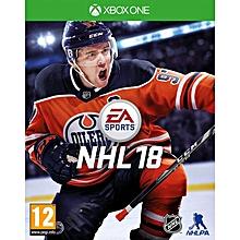 XBOX 1 Game NHL 18