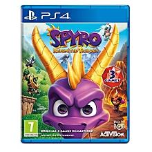 PS4 Game Spyro Reingnited Remastered Triology