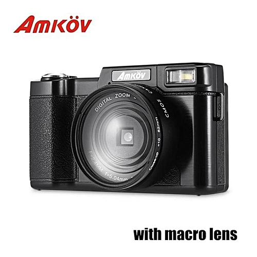 LEBAIQI AMKOV CD - R2 CDR2 Digital Camera Video Camcorder with 3 inch TFT  Screen UV Filter 0 45X Super Wide Angle Lens Photo Cameras