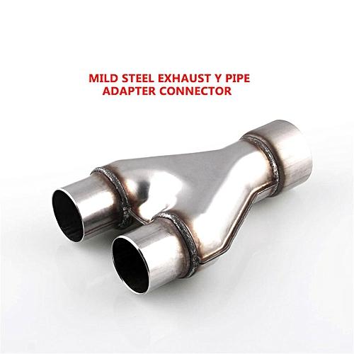 SU6-4 Mild Steel Exhaust Y Pipe Adapter Connector 3