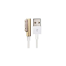 Magnetic USB Charging Data Cable With Light For Sony XL39H/Z1 L39HM51w Z2 L39T/U (White+Golden)