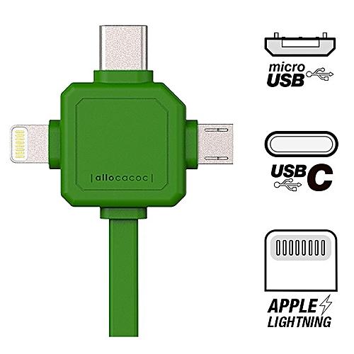 Znalezione obrazy dla zapytania USBcable USB-C allocacoc