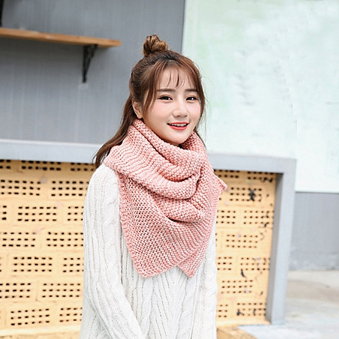 Buy Fashion Jiuhap Store Winter Warm Men Women Knit Cowl Neck Long