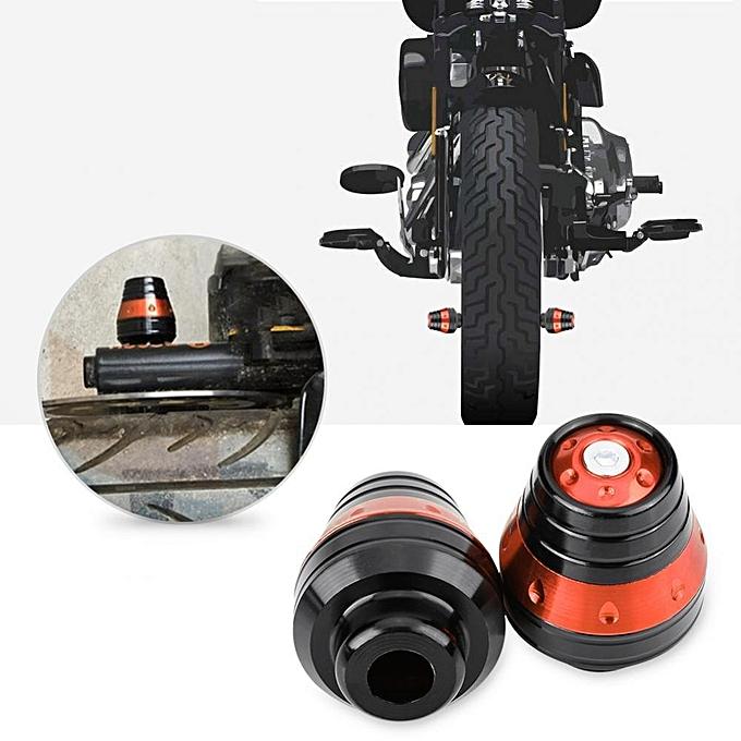 Buy Generic CNC Aluminum Motorcycle Front Fork Frame Slider Pad ...