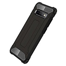 Galaxy S10+ Case,2 IN 1 Hybrid [Full Body] [Heavy Duty] Armor Case Dual Layer Shock Absorbing TPU for Samsung Galaxy S10+/Galaxy S10 Plus -Black