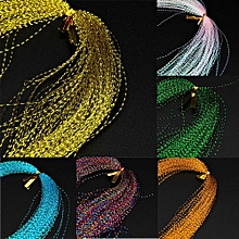 Withoutt Crystal Flash Fly Tying Material Holographic Fishing Lure Tying Making 100Pcs
