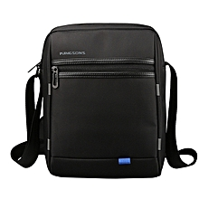 10 inch Men Nylon External USB Charging Minimalist Shoulder Bag Casual Business Crossbody Bag Sling