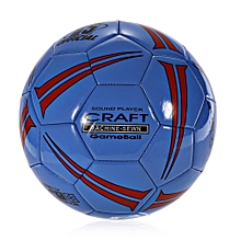 JBW505 No.5 PVC Machine Stitched Soccer Ball Football - Blue