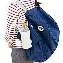 Folding Storage Shoulder Bag Backpack Multifunctional Finishing Package BU