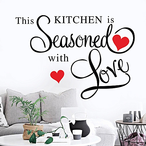 Nia Wall Stickers Decor This Kitchen Wall Sticker Removable Art Home Diy Decals