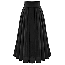 Women's Sexy Party Chiffion High Waist Lace-up Hip Long Skirt