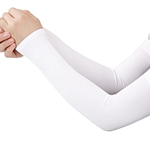 Cooling Arm Sleeves Cover UV Sun Protection Outdoor Ice Silk Sleeves-Array