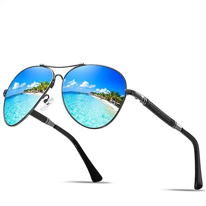 6d5f3e486946 Generic New men and women polarized sunglasses memory glasses-blue ...