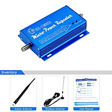 GSM902AMHz Mobile Unicom Phone Signal Booster Amplifier 2G 3G 4G Blue