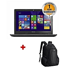 "Ideapad V110-15ISK - 15.6"" - Intel Core i3 - 500GB HDD - 4GB RAM - Free DOS - Black+Free Backpack"