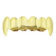 Electroplate Copper 6 Plating Shiny Grillz Teeth Hip Hop Teeth Teeth Grill gold
