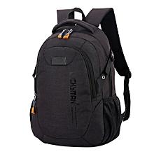 867eecd7f8 Zetenis Backpack Canvas Travel Bag Backpacks Unisex Laptop Bags Designer  Student Bag -black