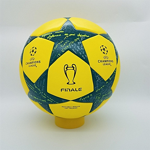 Generic 2016-2017 profession Champions League Official size 5 Football ball  Material PU Professional Match Training Soccer Ball Free Gas Needles and  Net Bag ... 19bd7c9f02095