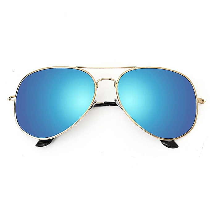585dbf4b06a ... Golf Ball Finder Glasses Blue Lens Metal Frame Less Straining  Sunglasses Pilot