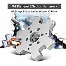 M4 Fisheye Effector Aluminum Alloy Fisheye Effector M4 Screw Hole Hanging for Delta Kossel 3D Printer