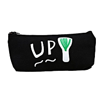 Vegetarianism Kids Gift School Pencil Pen Case Cosmetic Makeup Storage Bag Purse