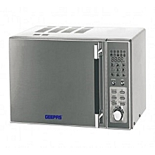 GMO1891 Microwave with Grill - 20 Litres - Grey .