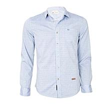 Blue Long Sleeved Shirt