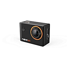 THiEYE i60+ 4K ULTRA HD WIFI ACTION CAMERA 12MP 2.0 INCH SCREEN 170 DEGREE WIDE LENS SPORT DV (BLACK)