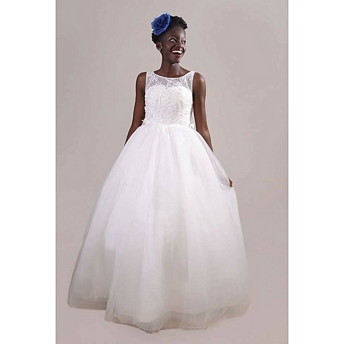 Buy Topa Norahs Bridal Wedding Gown White At Best Price Jumia Kenya