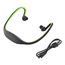 Sport Wireless Bluetooth Handfree Stereo Headset Headphone For iPhone Cellphone Green
